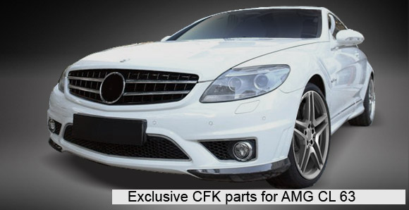 Exclusive CFK Parts for AMG SL 65